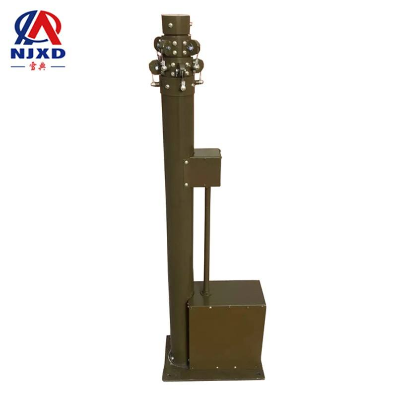 military electrical motor telescopic mast tower pole 4m 5m 6m 7m 8m