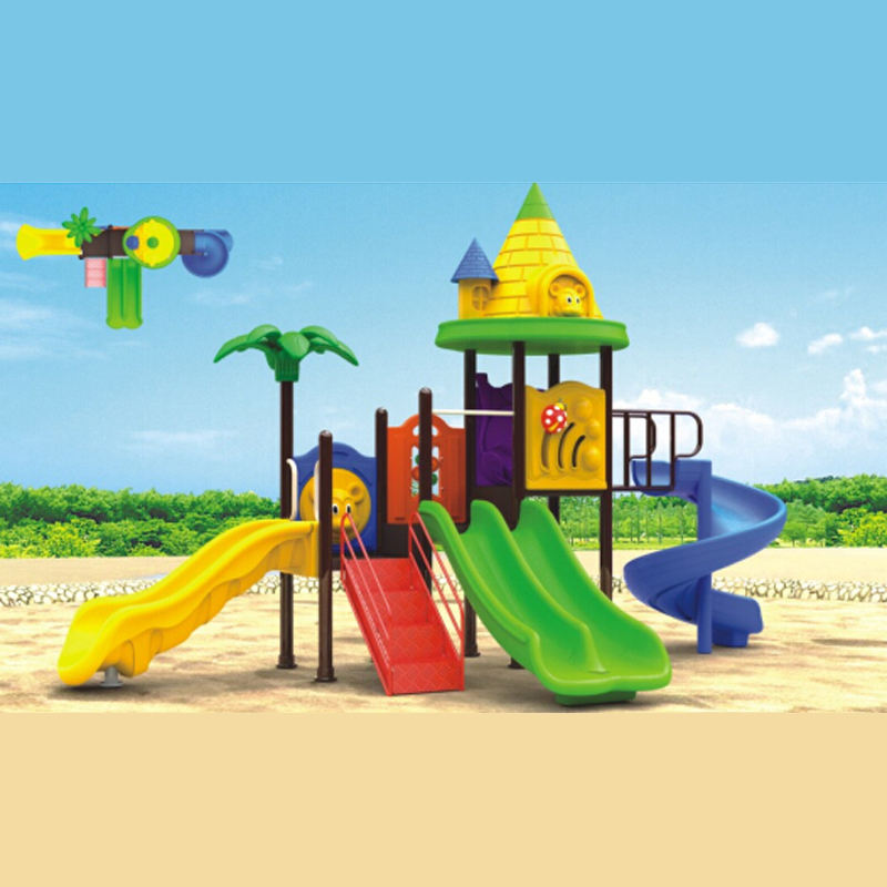 Kids outdoor playground used commercial playground equipment sale