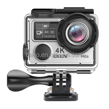 EKEN H6S Newest 14MP Ultra HD 4k Ambarella A12 wireless remote go pro camara deportiva 4k 30fps