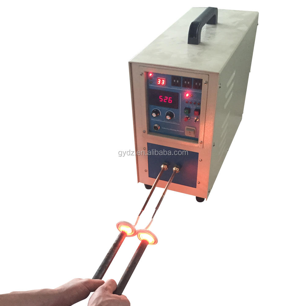 High Frequency 15KW Portable Electric Induction Heater Heating Machine