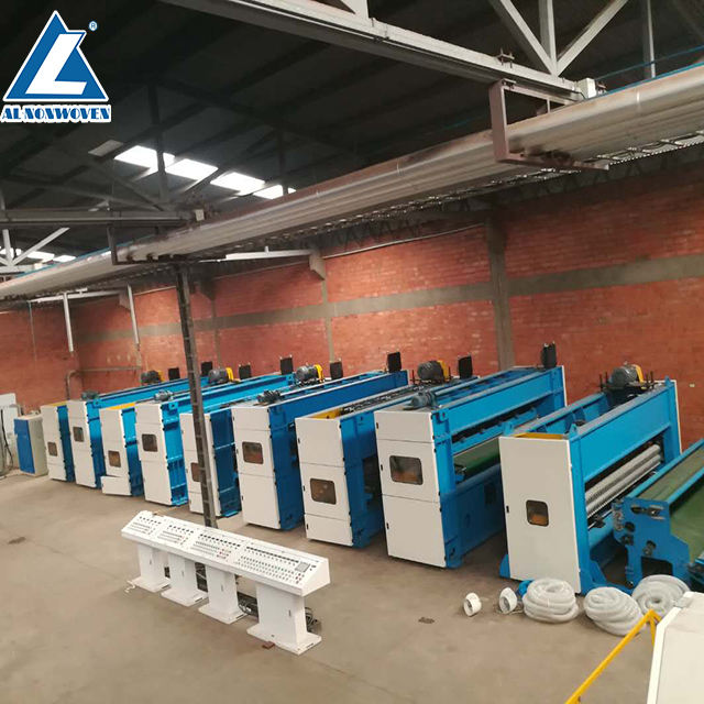Economic polyester fiber nonwoven PU leather making machine/synthetic leather making machine