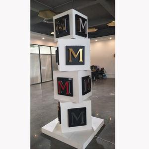 Klar 3D Buchstaben Acryl Brief Block Acryl Wand Zeichen