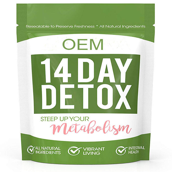 Zero Tea 14 Day Detox Slimming Weight Loss Tea Teatox Herbal Ingredients for Cleanse
