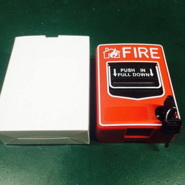 Manual call point emergency button Pull Station for anti fire