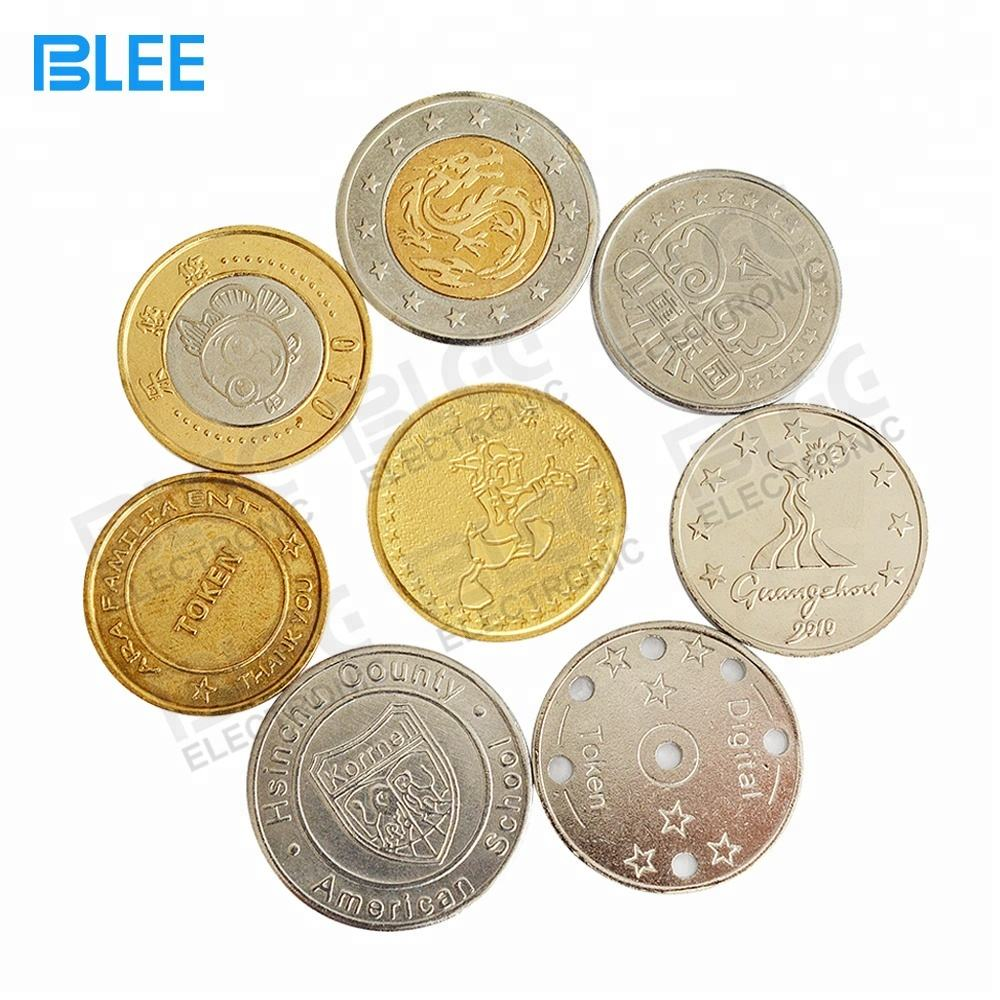 OEM coin manufacturer cheap custom different metal different size washing machine coin / arcade token coins