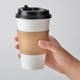 Disposable Paper Coffee Cups 12oz/16oz Disposable Coffee Paper Cup Cover