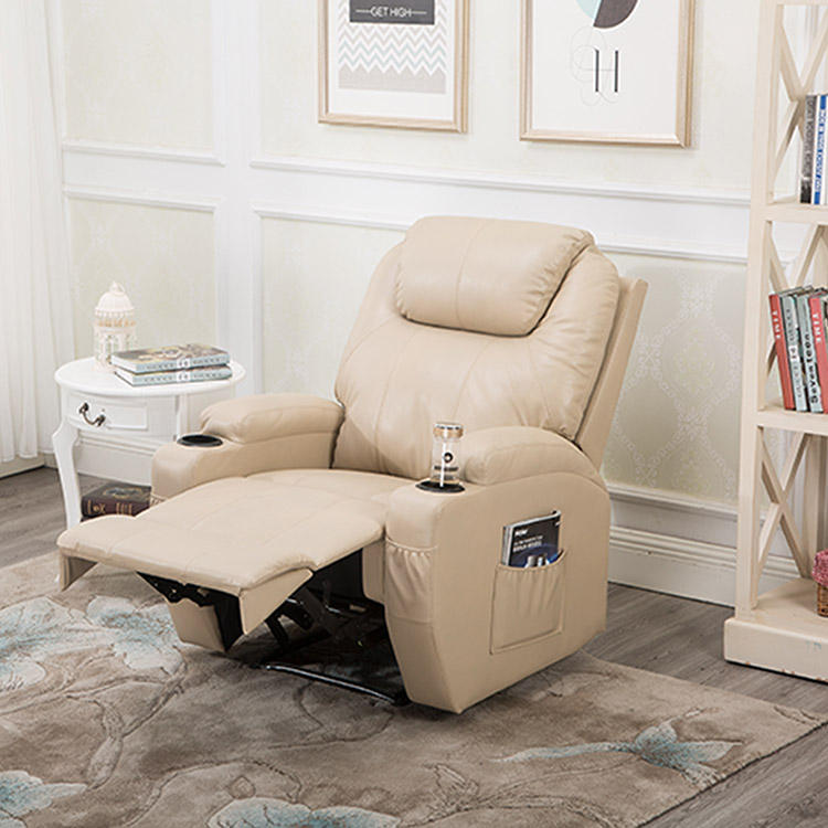 Modern 8 point massage sofa recliner chair with footrest BRC-311