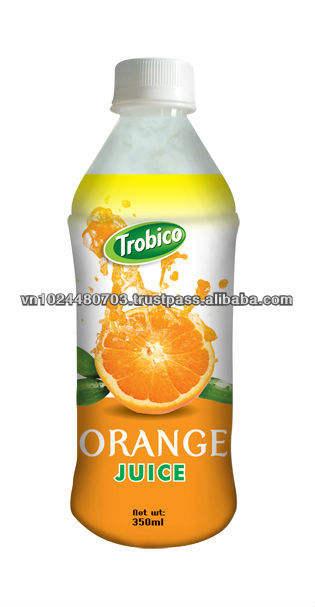 350ml пэт бутылка апельсиновый сок