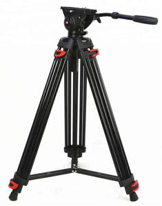 Ereise 1800MMProfessional Heavy Duty Stable Aluminum Non-slip Video Tripod + Fluid Pan Head for Camera DV