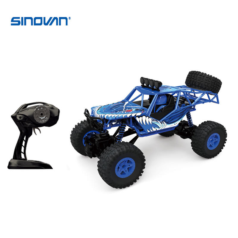 Rock Savage 4x4 Offroad Racing 2.4G Rechargeable escalade RC chenille 1:16