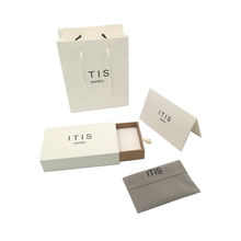 Jewelry packaging gift paper packing jewlery box