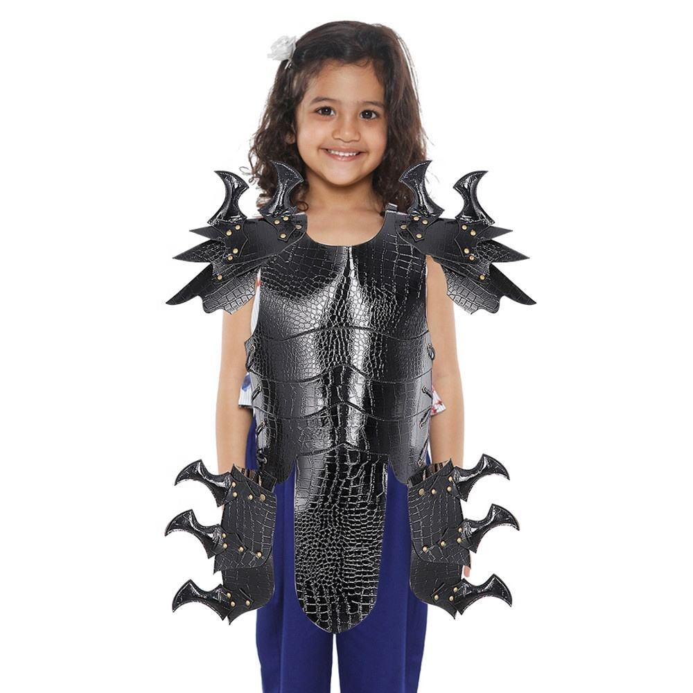 Roleparty Wholesale Funny PU Leather Knight Armor Carnival Party Children Halloween Costume