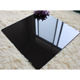 Direct factory sell super black polished porcelain slab tile black kajaria floor tiles 24
