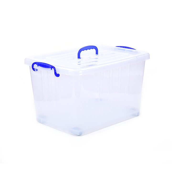 Affordable 52 gallon extra large clear plastic storage containers,warehouse plastic storage bins clear