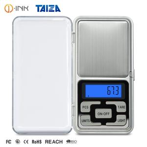 Портативный коробка Высокая Точность 0,01 г 100 г 200 г 500 г Карманный весы цифровой