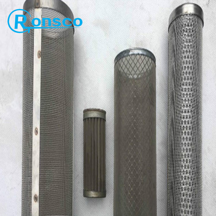 OEM RVS 316 geperforeerde metalen mesh filter buizen