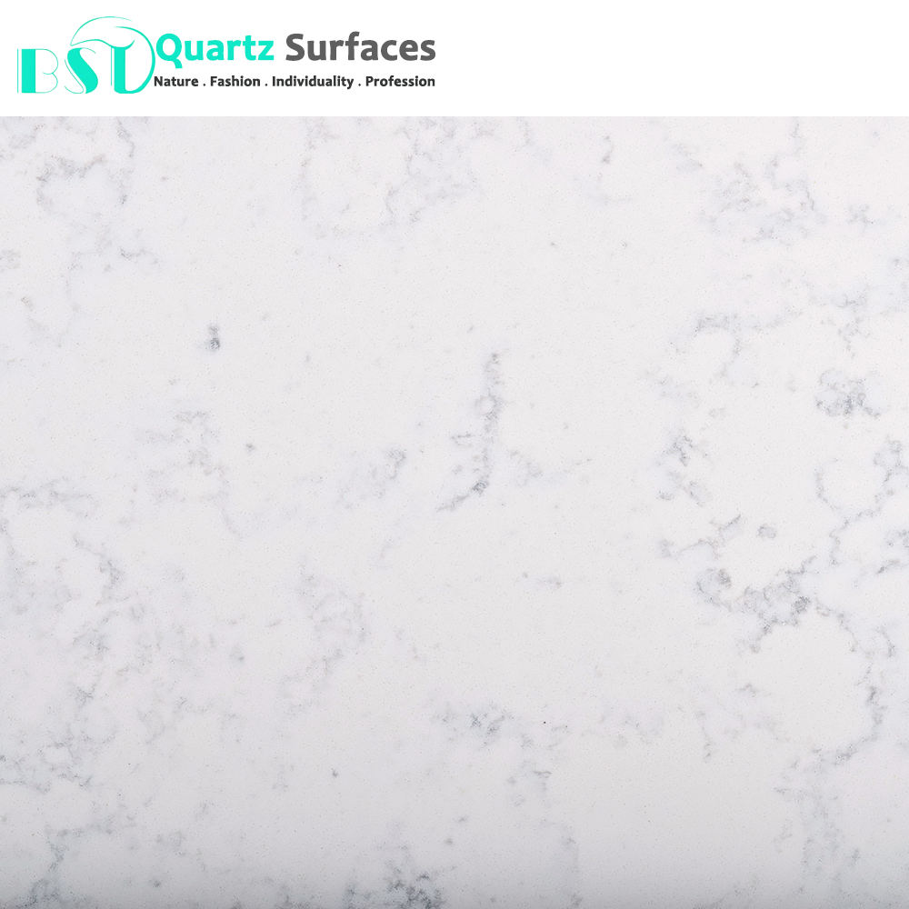 Carrara White Artificial Quartz Stone Wholesales