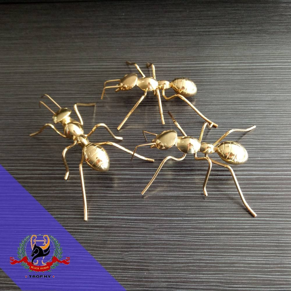 Funny Gift Items For Ant Model Metal Ants Decoration Small