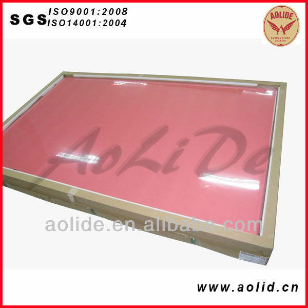 2.28mm high quality analog resinl flexographic printing plate photopolymer plate maker for carry bag