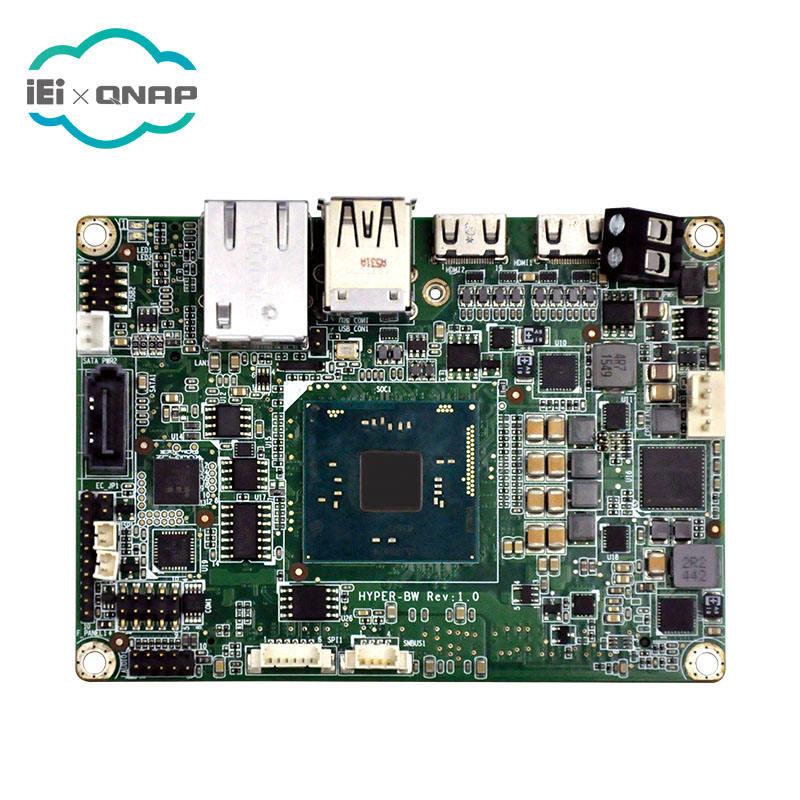 IEI HYPER-BW-E8 Pico-ITX SBC mit Intel <span class=keywords><strong>Atom</strong></span> 14nm quad-core x5-E8000 bis zu 2,00 ghz (5 watt) auf-<span class=keywords><strong>board</strong></span> SoC