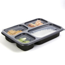 factory supplies food take away packaging boxes disposable plastic lunch container trays manufacturer