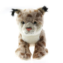 20cm Animal Plush Christmas Lynx Stuffed Toys for Children