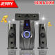 Home Audio Surround Sound Speaker JR-X3 3.1 Mini Amplifier Reasonable Price For Home Karaoke Home Theater Sound System