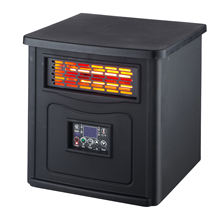 IH-1502 digital control freestanding antique  stand electric infrared quartz heater