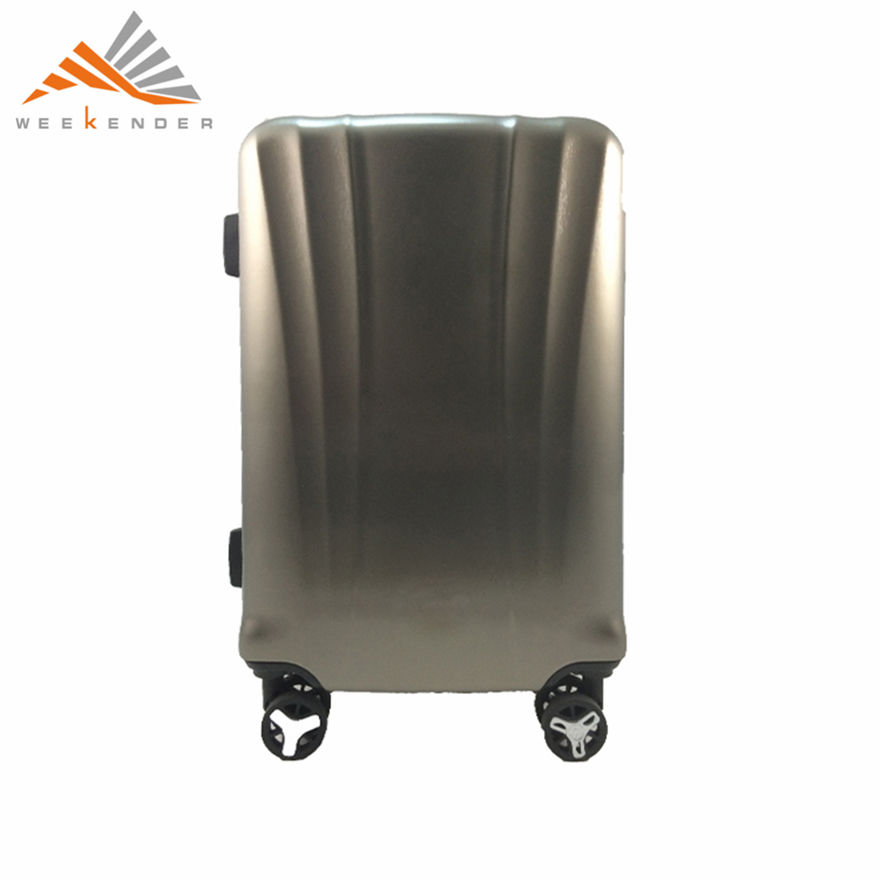 New product 2018 china supplier high quality abs hard plastic baggage