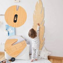 kids Wooden length height measuring board for child