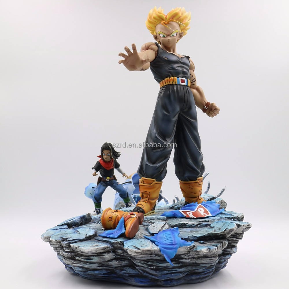 Custom action figure koop, top koop custom dragon ball z figuur speelgoed, OEM dragon ball styling super saiyan 4 zoon