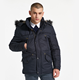 Winter Anorak Mens Windbreaker Trench Tactical Jacket Large Size Men Parka Fur Collar Coat Military Jacket Male