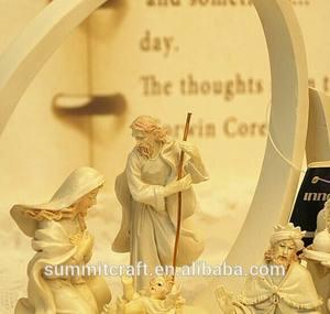 La naissance de jésus - Christ saint figures décoré cadeau jérusalem cadeaux souvenirs