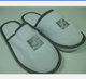 customized hotel slippers with logo print and packing /home bedroom and airline use disposable slipper