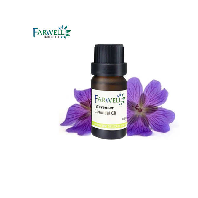 Farwell high pure natural Geraniumsurroses/Geranium Essential Oil CAS 8000-46-2