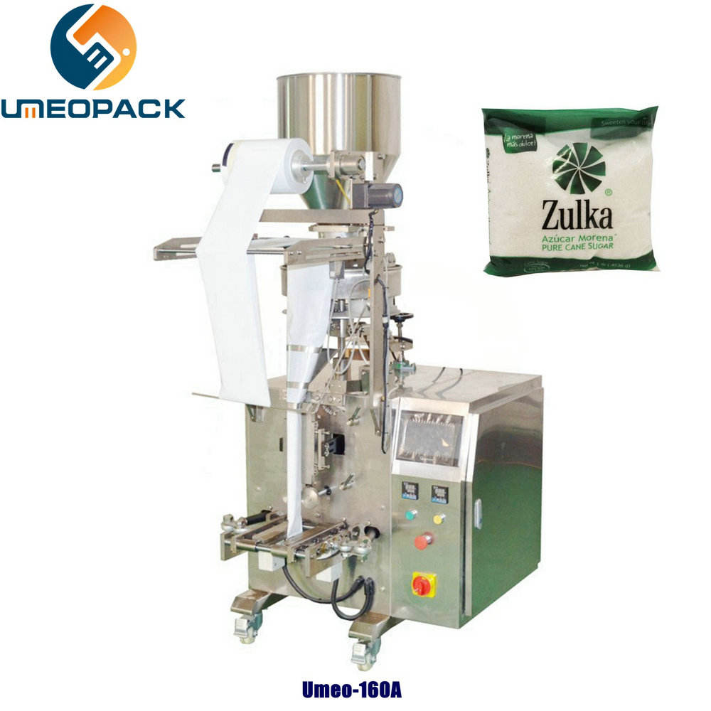UMEO-160A Small vertical mini cube sugar stick sachet packet packing machine 5g 50g 100g 200g automatic