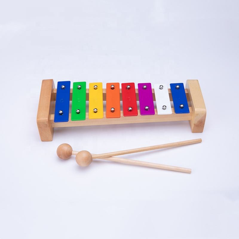 Orff percussion instruments children Eight-tone Metallophone Music teaching aids play piano