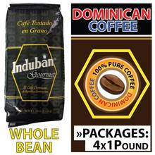 Induban Roasted Beans 4 Pound (One Pound per Pack) | 1.81 Kg