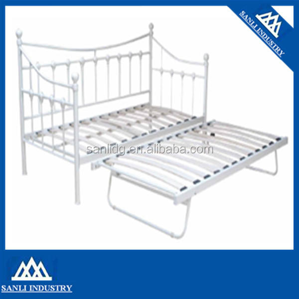 Wood Slat Day Bed,UK Day bed metal daybed