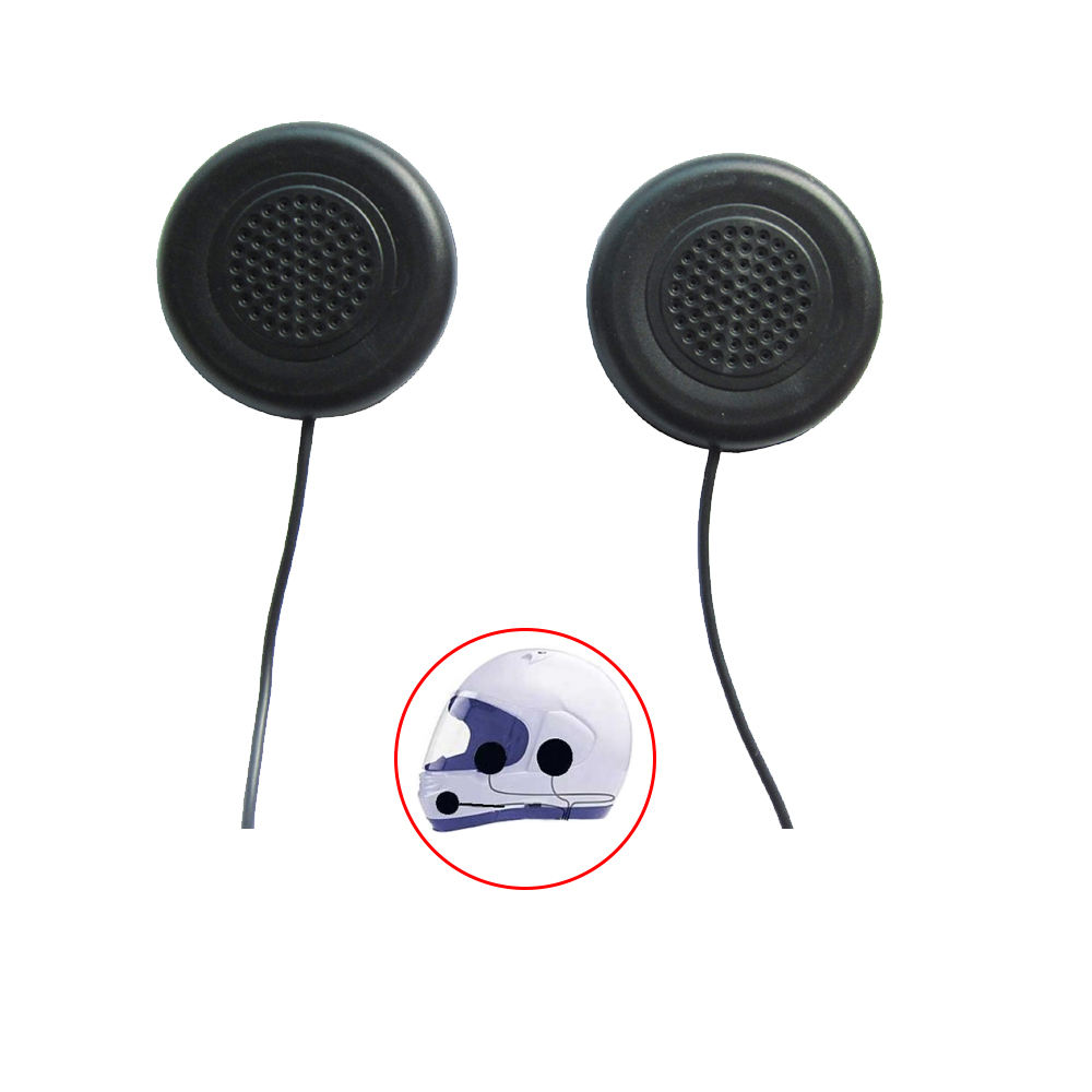 Motorcycle Helmet Stereo Speakers Headphones Mic Mobile Phone Earphone with 3.5mm plug