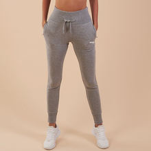 Cuffed Ankles Women Sports Pants High Waist Fitting Sweatpants