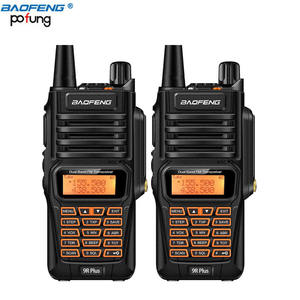2019 NOVA china radioamador baofeng 10w IP67 10km de longo alcance walkie talkie 4500mah Baofeng UV-9R plus