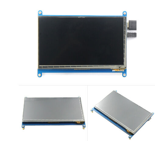 1024*600 Resolution 7 inch LCD Capacitive Touch Display TFT LCD Display Monitor for Raspberry PI