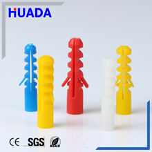 Huada HDS-6 series PE Plastic Expand Nails/expand wall anchor
