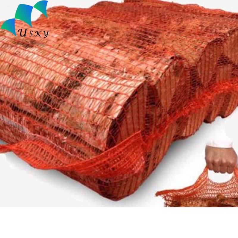 Factory Supply Firewood Mesh Bag / Raw Material New PP Onion Bag Net Bags for Firewood