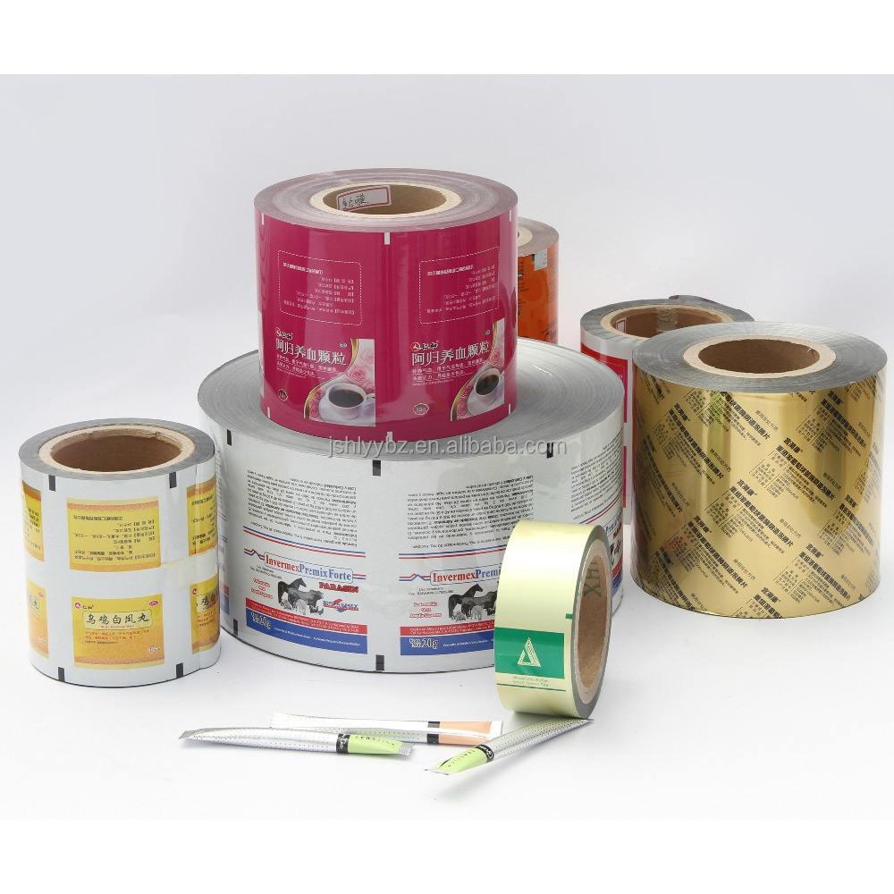 PET/Foil/PE laminates rolls for flow-wrap and pouches