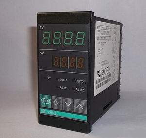 Pengendali Temperatur Digital PID CH402 Output Relay, Vertikal 48*96Mm