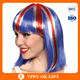 2016 UEFA Cheap Fans Flance Flag Wigs For Euro Football Sports