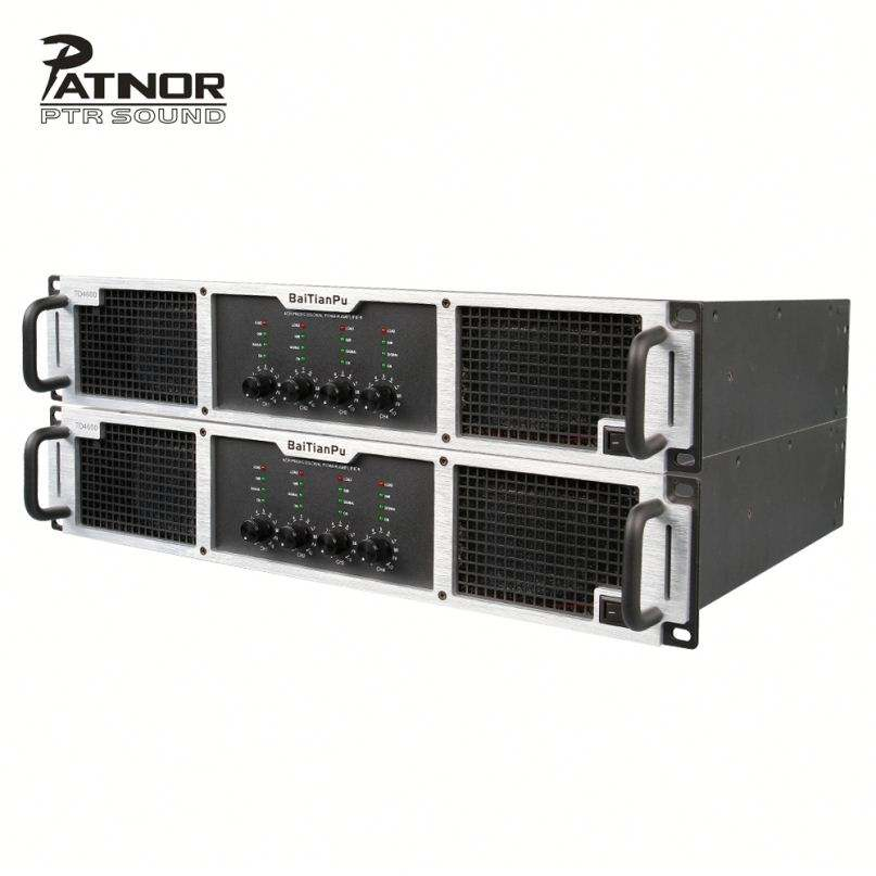 Patnor 10000 Watt 4 Channel Kelas H High Power Amplifier untuk Bar Klub Malam