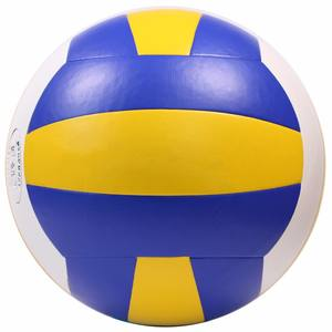 Popular hot selling high quality custom design volleyball for PVC leather